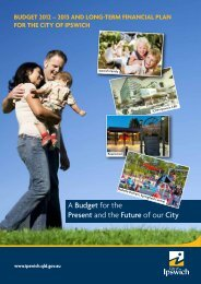 Budget 2012 – 2013 - Ipswich City Council