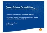 Pseudo Relative Permeabilities