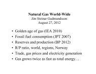 (IEA 2010) • Fossil fuel consumption