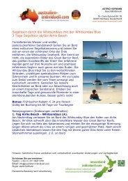 Australien Individuell Angebot Australien