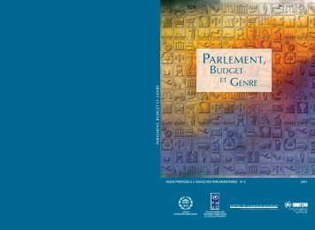PARLEMENT, - Inter-Parliamentary Union