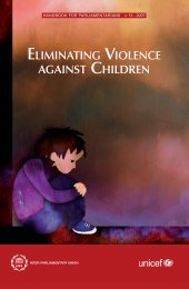 Eliminating Violence against Children - Inter-Parliamentary Union