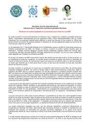 Neuvième Journée internationale de tolérance zéro à l'égard des ...