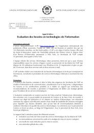 Evaluation des besoins en technologies de l'information - Inter ...
