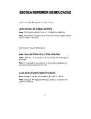 ESCOLA SUPERIOR DE EDUCAÇÃO - Instituto Politécnico de Viseu