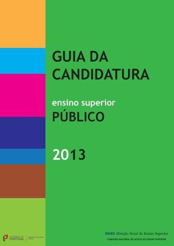 Guia da Candidatura ao Ensino Superior Público 2012 - Instituto ...