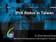 Development - IPv6 Forum Taiwan