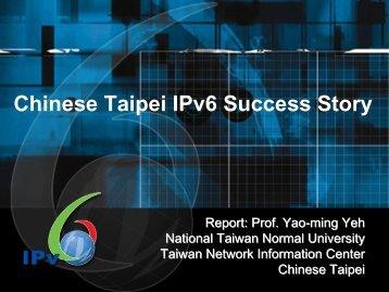 Internet - IPv6 Forum Taiwan