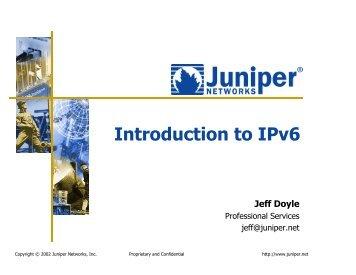 Introduction to IPv6 - IPv6 Forum Taiwan