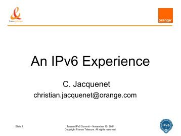 Download - IPv6 Forum Taiwan