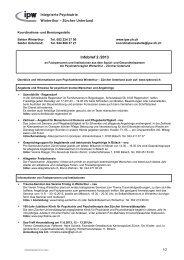Koordinations- und Beratungsstelle - Integrierte Psychiatrie ...