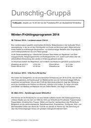 Programm Dunschtig-Gruppä (PDF, 2 Seiten, 214 kB)