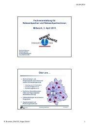 Fachveranstaltung für Netzwerkpartner und Netzwerkpartnerinnen ...