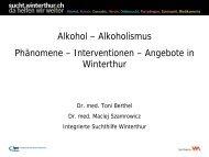 Alkohol - Integrierte Psychiatrie Winterthur - Zürcher Unterland ...