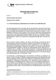 Behandlungsvereinbarung ipw (PDF, 93 kB) - Kanton Zürich