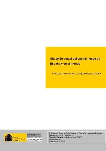Situación actual del capital riesgo en España y en el mundo