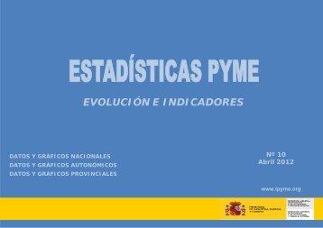 Estadísticas PYME: Evolución e indicadores. Año 2011 - Dirección ...