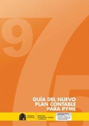Guía del nuevo Plan Contable para PYME - Dirección General de ...