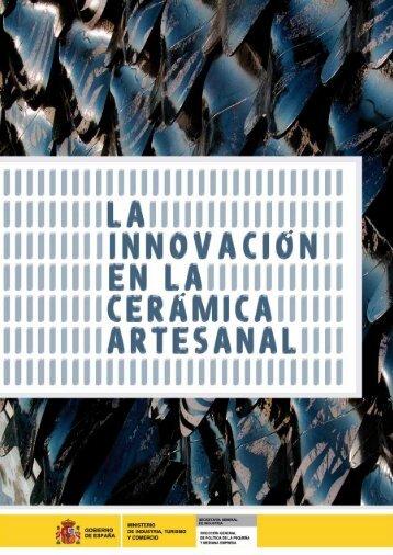 La innovación en la Cerámica Artesanal - Dirección General de ...