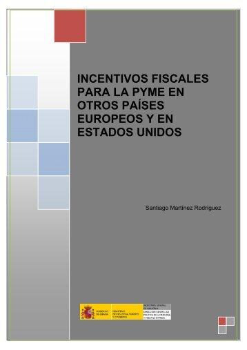 Incentivos fiscales para la PYME en otros países - Dirección ...