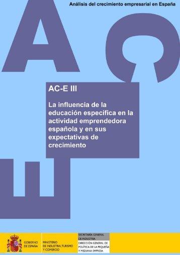AC-E 2006 - Dirección General de Política de la Pequeña y ...