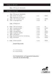 Zeitplan (Update 13.06.2007) - IPZV Lippe e.V.