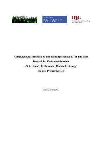 Orthografie - IQB