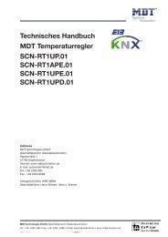 technisches handbuch temperaturregler scn-rt1 - IQmarket