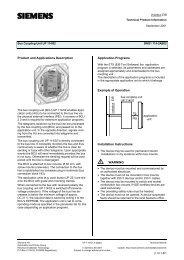 Product and Applications Description Application ... - IQmarket