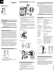EMO valve drive For your safety Valve drive introduction ... - IQmarket