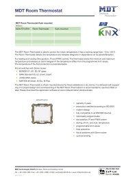 MDT Room Thermostat - IQmarket