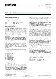 Use of the application program Functional description - IQmarket