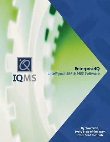 IQMS Brochure Booklet