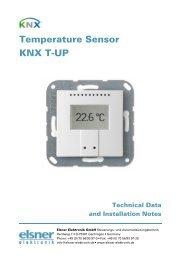 Temperature Sensor KNX T-UP - IQmarket