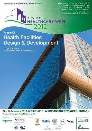Health Facilities Design & Development - IQPC.com