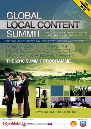 27th September 2010 - IQPC.com
