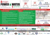 The only event dedicated to Oman's power and water ... - IQPC.com
