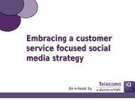 Embracing a customer service focused social media ... - IQPC.com