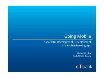 Going Mobile - IQPC.com