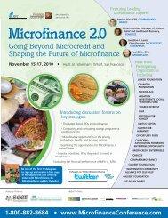 IQPC-NY Microfinance 9.0:Layout 1 - IQPC.com