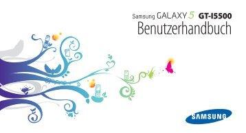 Samsung-I5500-Bedienungsanleitung.pdf ... - Fonmarkt.de