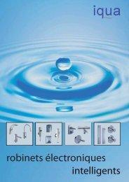 robinets électroniques - iqua.ch