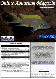 Online Aquarium Online Aquarium-Magazin kostenlos und ...