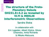 The structure of the Proto- Planetary Nebula OH231.8+4.2 as ...
