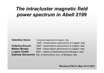 The intra-cluster magnetic field power spectrum in relaxed galaxy ...