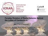 Faraday Rotation Structure on Kiloparsec scales in the giant lobes of ...