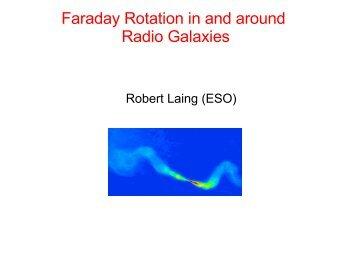 Faraday rotation in and around radio galaxies