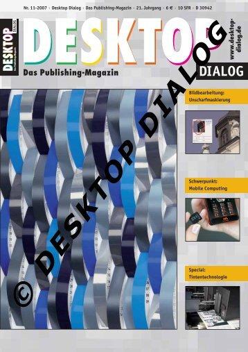 NEWS - Desktop Dialog