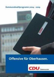 2. Strukturwandel - CDU Oberhausen