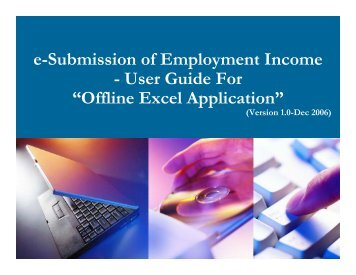 Offline Excel Application - IRAS